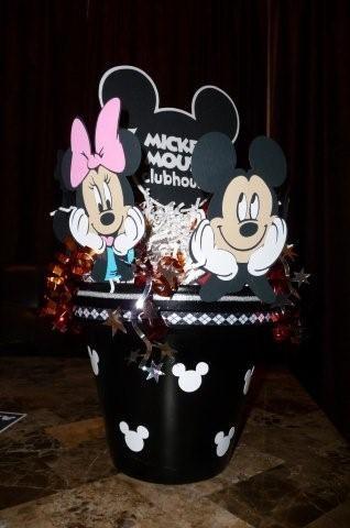 Mickey & Minnie Centerpiece