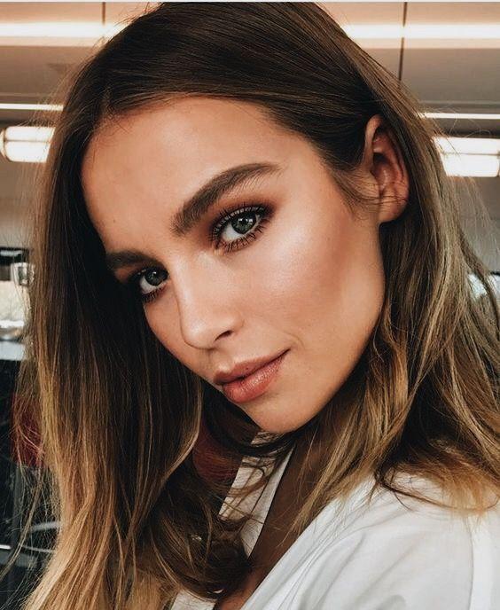 Natural Make up Look.