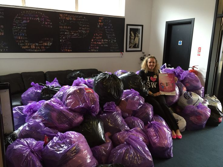 Amazing success with The Clothes Throw....125 bags collected.:0)