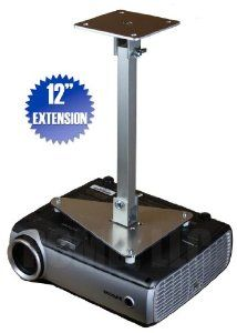 """PCMD All-Metal Projector Ceiling Mount with 12"""" Extension for Infocus IN3128HD by PCMD, LLC.. $78.95. Projector ceiling mounts from PCMD, LLC. offers the consumer a quality ceiling mount at closeout prices. This projector ceiling mount can be rotated 360°, and pitched and rolled in any direction. The mounting plate is CNC machined for precise fitment and made from 6061-T6 aircraft grade aluminum. Unlike universal ceiling mounts, our projector ceiling mounts are spe..."""