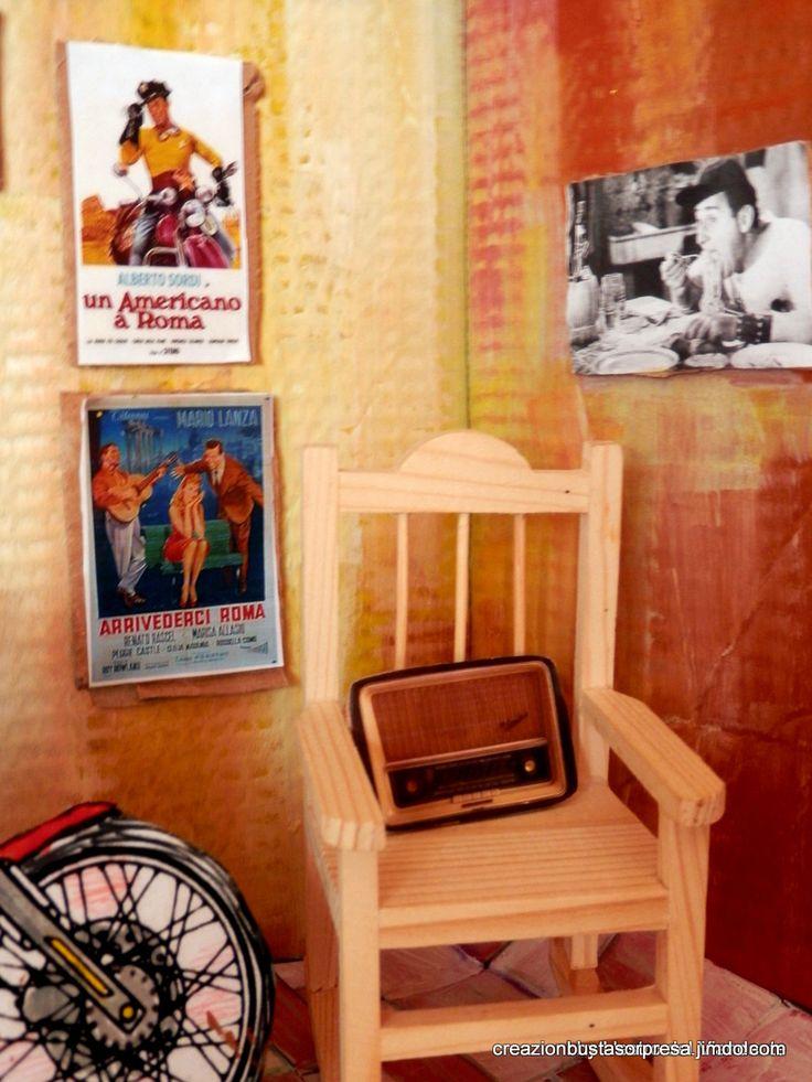 Ar Garagetto c'è una radio d'epoca, de nonno.