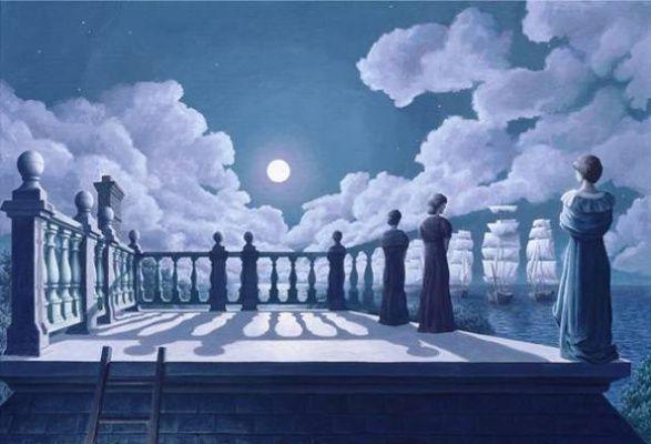 Magické optické ilúzie od Roba Gonsalvesa | Skaut a Médium