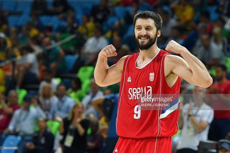 Serbia outmuscled Australia. Serbia's point guard Stefan Markovic reacts during a Men's semifinal basketball match between Australia and Serbia at the Carioca Arena 1 in Rio de Janeiro on August 19, 2016 during the Rio 2016 Olympic Games. / AFP / Andrej ISAKOVIC