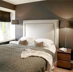 Interiørarkitektens hjem soverom gavl tips