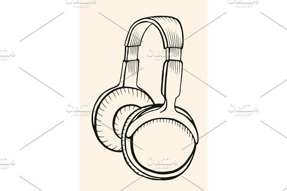Sketch Circumaural Headphones. Best Objects