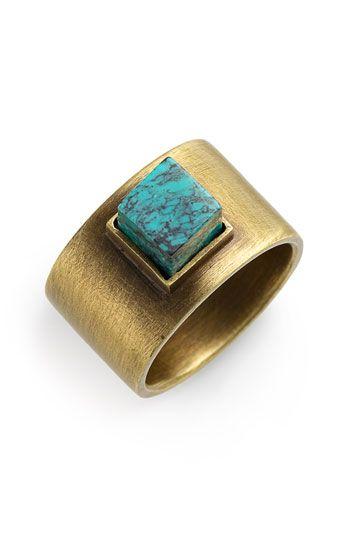 Kelly Wearstler - Turquoise Stud Ring - Nordstrom.com nordstrom turquoise ring