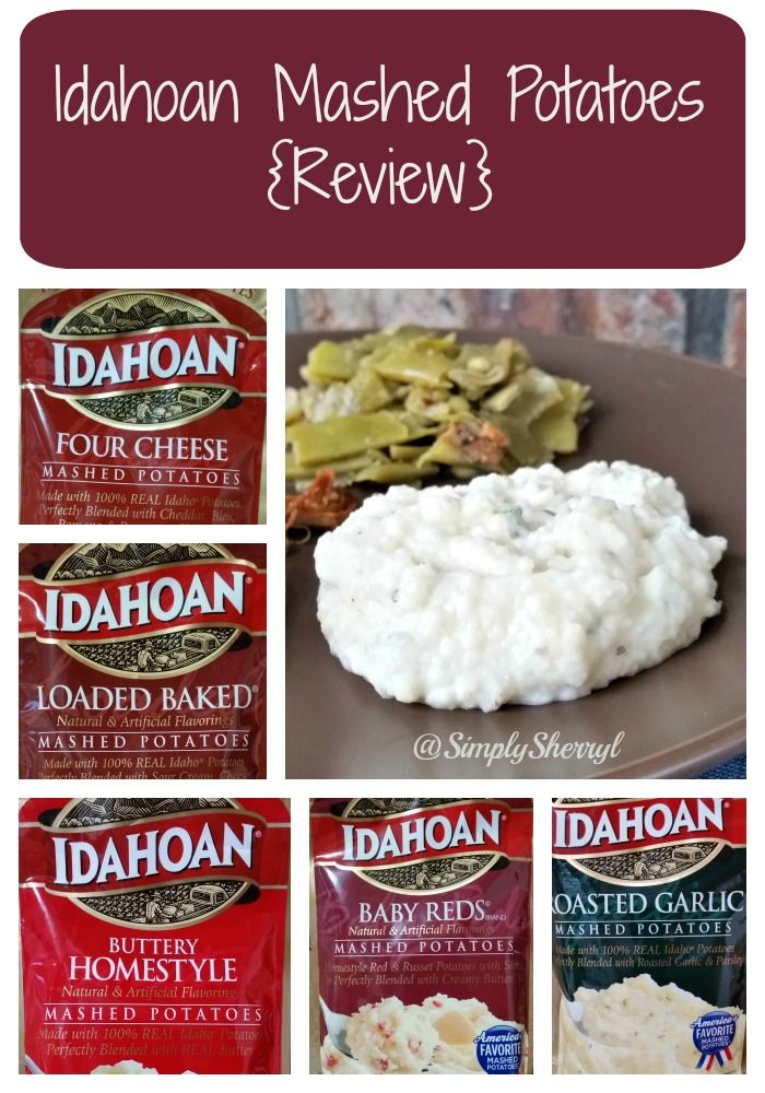 Idahoan Mashed Potatoes {Review} & Giveaway - USA 12/22