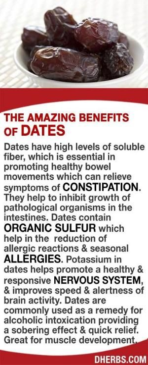 Dates have high levels of soluble fiber, essential in promoting healthy bowel movements relieving constipation. Help to inhibit growth of pathological organisms in the intestines. Its organic sulfur helps in the reduction of allergic reactions & seasonal