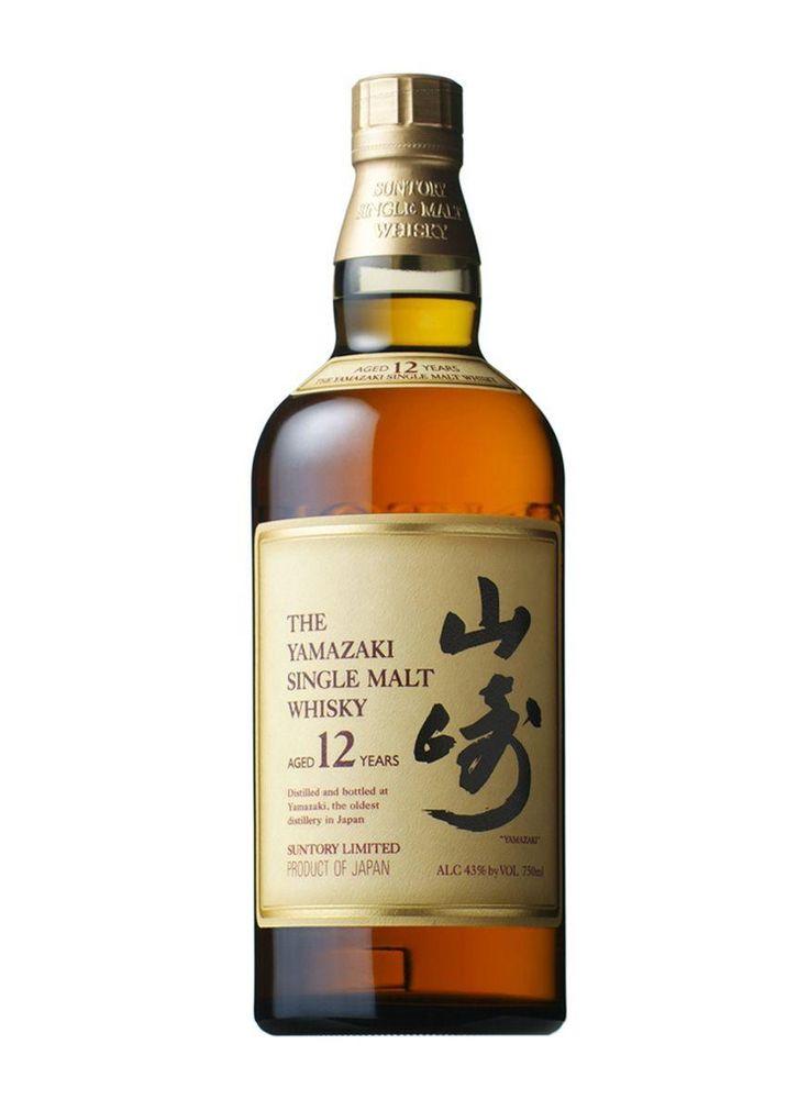 The Yamazaki Single Malt Whiskey (Aged 12 years) - Suntory Limited. #japanese #package #design