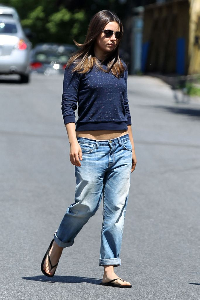 Mila Kunis - Denim Style