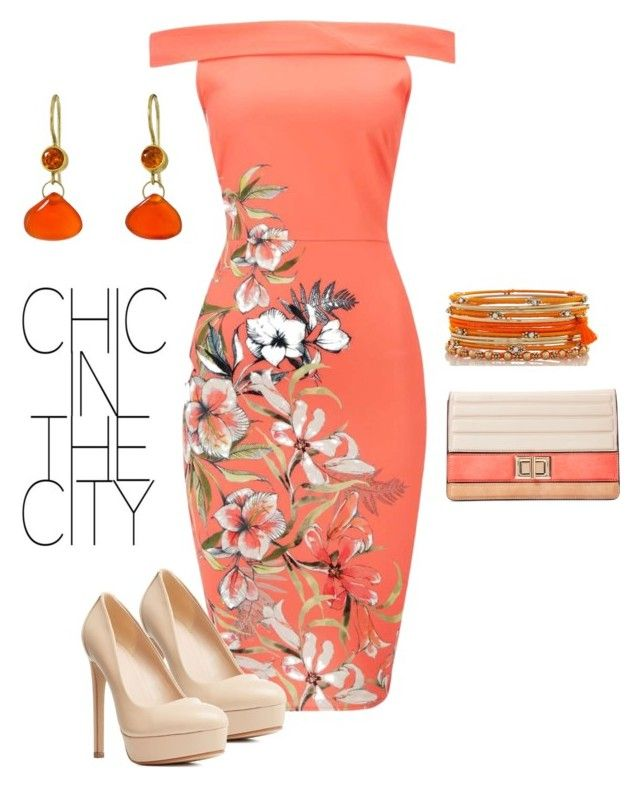 """""""couture Sample Sales -Chic in the City"""" by couturesamplesales on Polyvore featuring Melie Bianco, Charlotte Russe and Mallary Marks"""