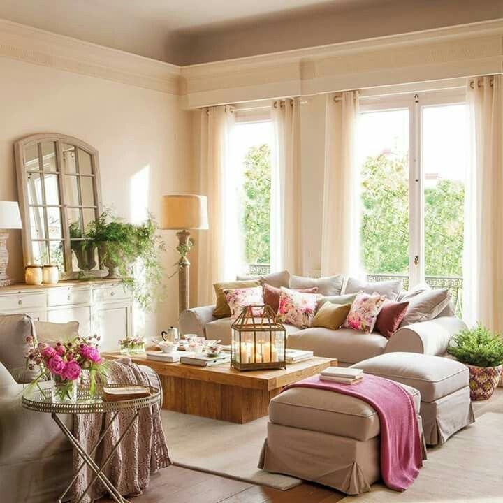 260 best Pretty Living Rooms images on Pinterest Living spaces - pretty living rooms