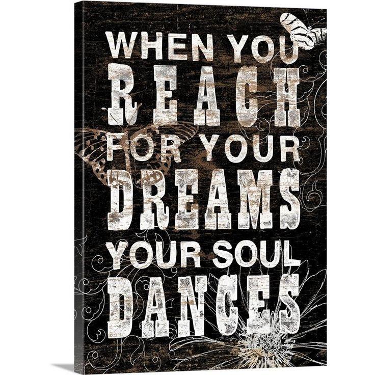 "GreatBigCanvas """"Reach For Your Dreams""""by Tim Coffey"
