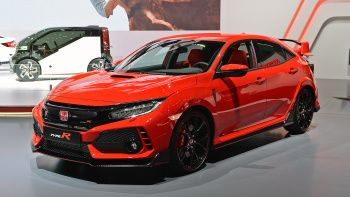 View detailed pictures that accompany our 2018 Honda Civic Type R: Geneva 2017 article with close-up photos of exterior and interior features. (16 photos)