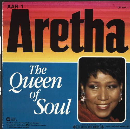 Aretha Franklin, the Queen of Soul, 1990, [album cover 1, front] :: Aretha Franklin, the Queen of Soul, 1990 :: Gospel Music History Archive. http://digitallibrary.usc.edu/cdm/ref/collection/p15799coll9/id/232