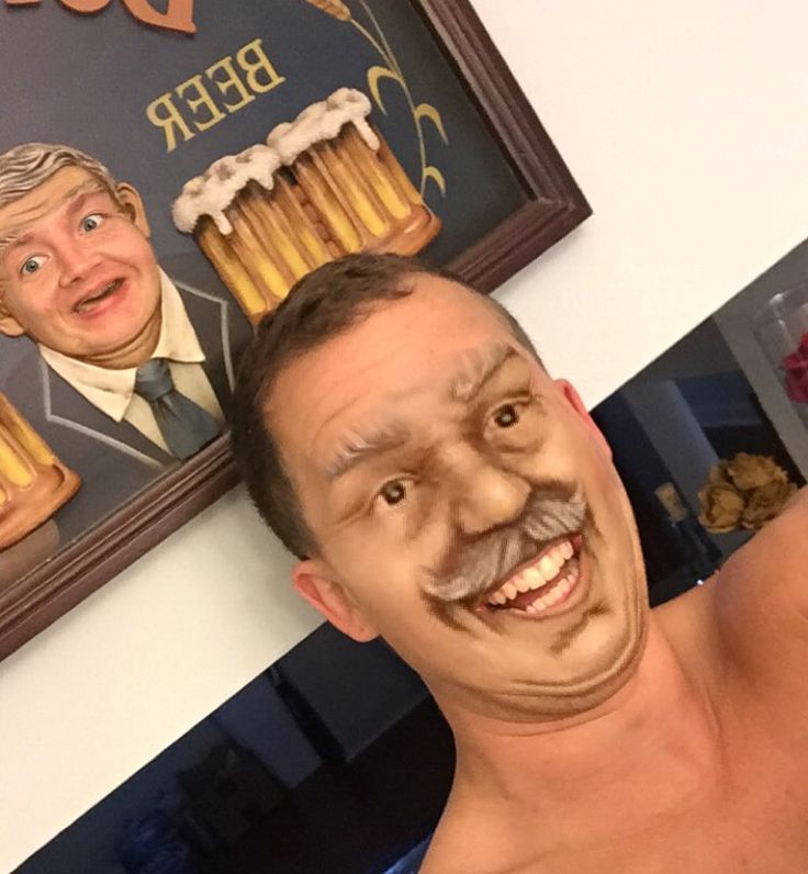 Faceswap gone horribly right.