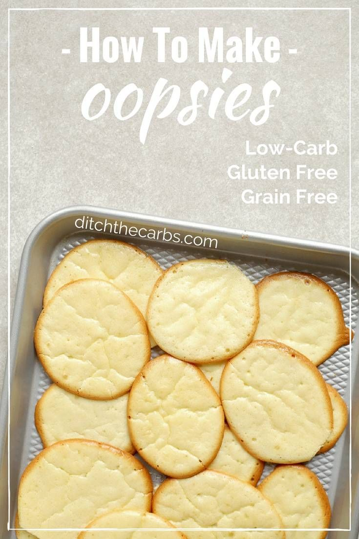 """Watch the quick video """"How To Make Oopsies"""". Oopsies are an absolute classic recipe for those who are low carb, gluten free, grain free and sugar free.   ditchthecarbs.com via @ditchthecarbs"""