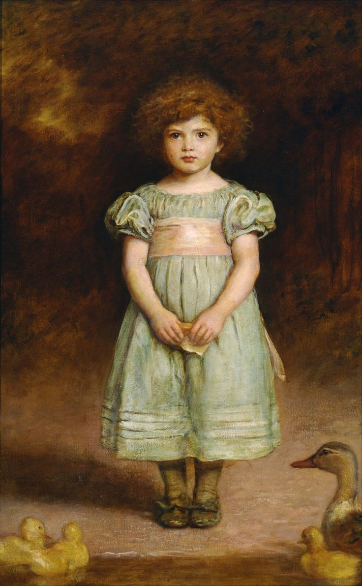 John Everett Millais (1829–1896) Ducklings 1889
