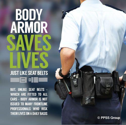Body Armor Saves Lives