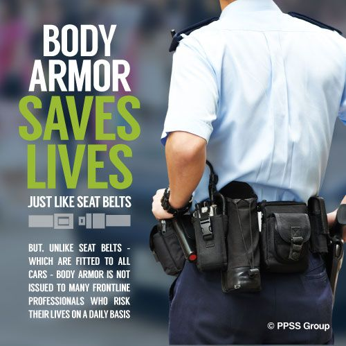 Body Armor Saves Lives