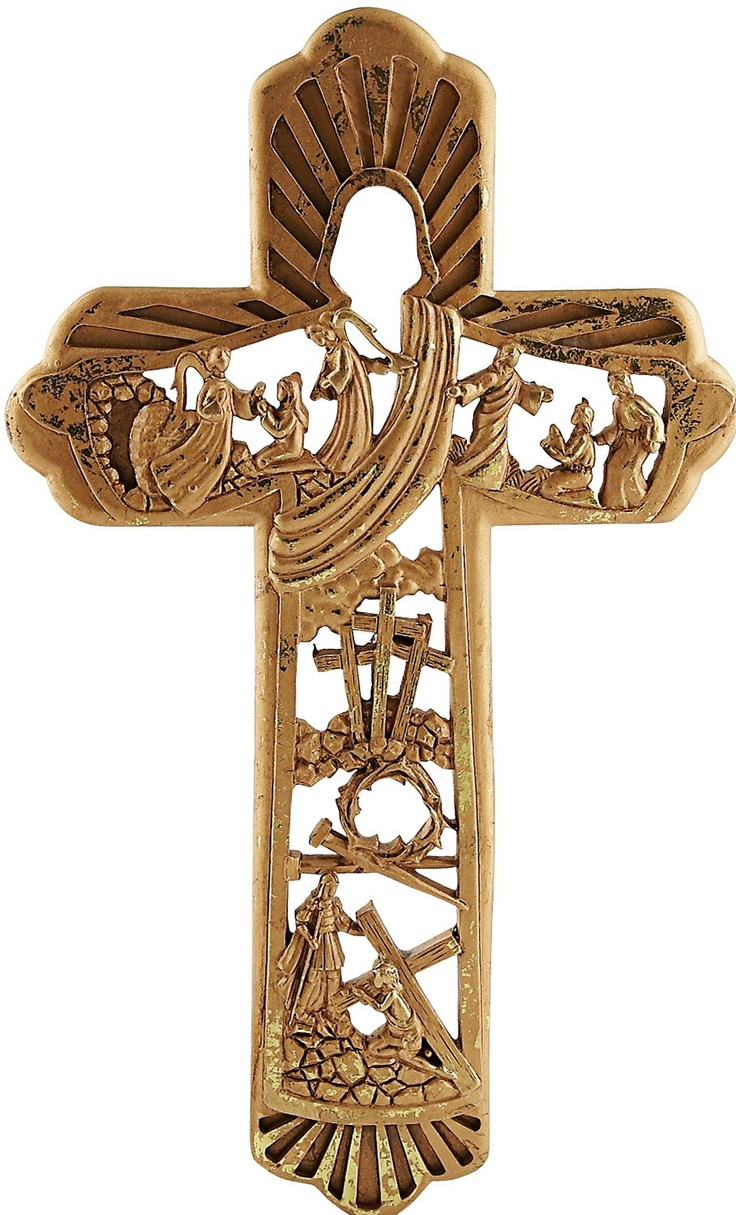 57 best crosses and crucifixes images on pinterest the cross celebrate his resurrection with this beautiful 12 cross amipublicfo Images