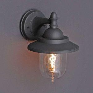 Buitenlamp Oxford wand grafiet - Lampenlicht.nl