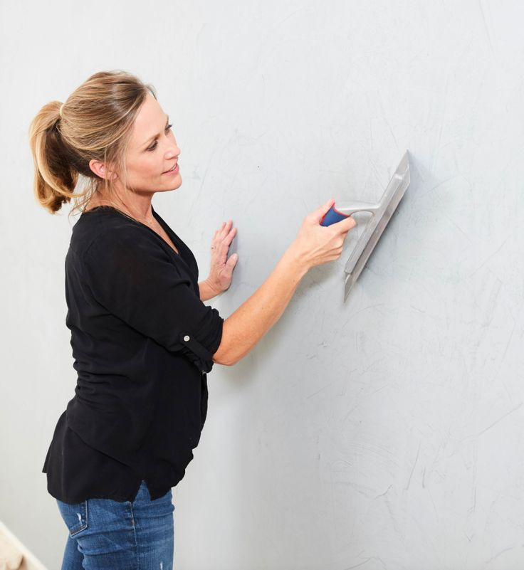 DIY - Polished Concrete Effect Wall