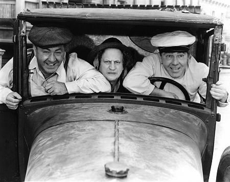 "The Three Stooges - Stars and cars ""University Driving School"""
