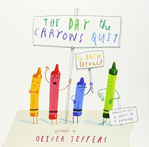 The Day The Crayons Quit by Drew Daywalt http://www.amazon.co.uk/dp/0007513763/ref=cm_sw_r_pi_dp_sAVavb0MT9YVB