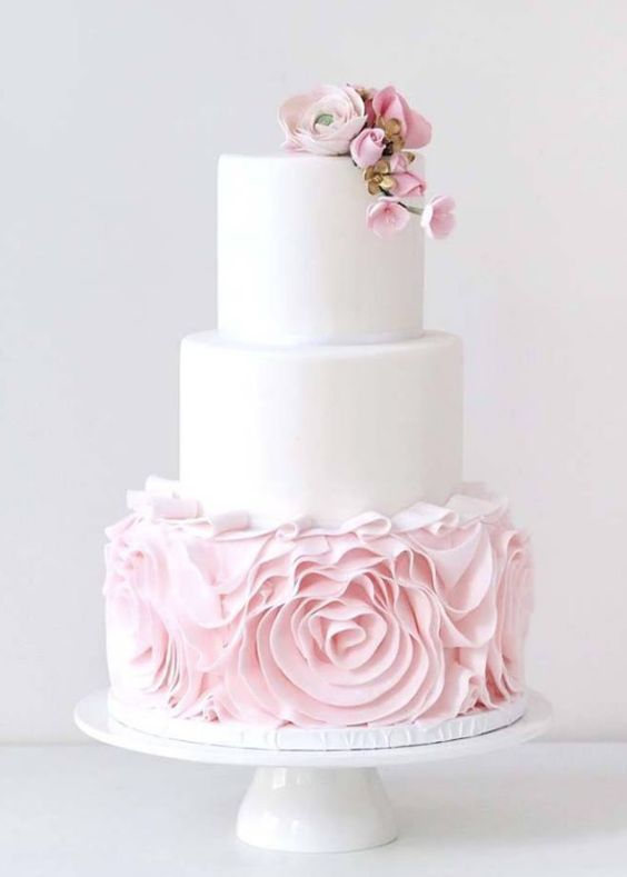 wedding cake ideas pink and white 1830 best wedding cakes images on 22931