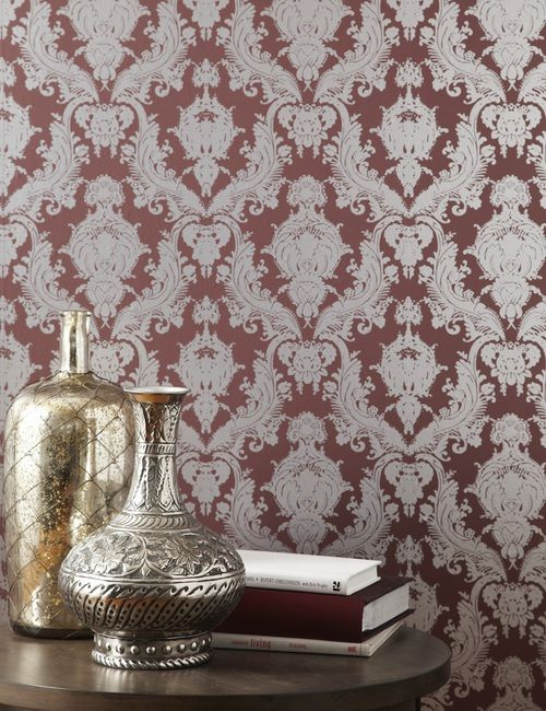 silver plum da037 damsel wallpaper self adhesive
