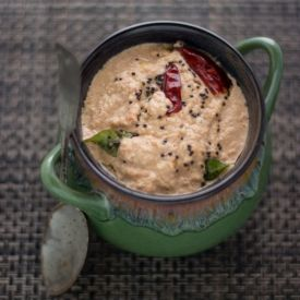 Quick 'n' Easy Peanut Chutney, Best accompaniment for south indian breakfasts !!