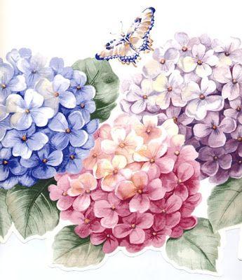 Decoupagem - Tema Flores