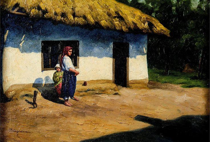 Pe prispa - Nicolae Baesu