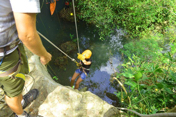 Rappeling, Dschungel, Exploring