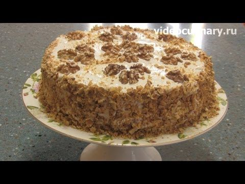 Торт Пьяная вишня - Рецепт Бабушки Эммы - YouTube