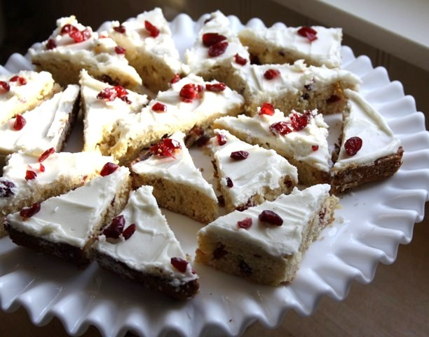 cranberry bliss bars | Brownies and Bars | Pinterest