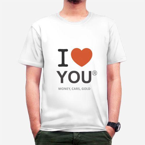 I Love dari tees.co.id Oleh Showself