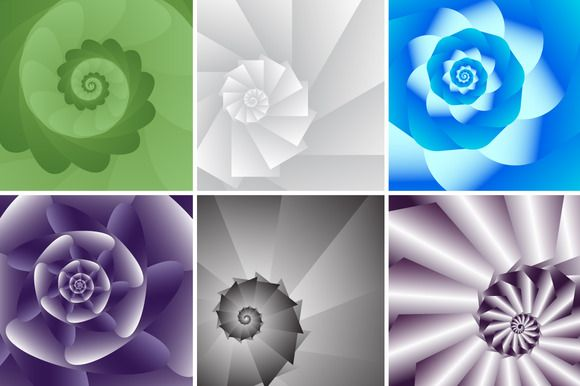 Abstract backgrounds by Ulafant on Creative Market