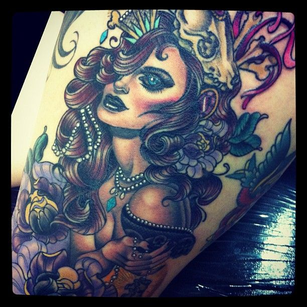 64 best images about chest tattoo on pinterest lone wolf for Cherry bomb tattoo parlor perth
