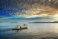 Morning view from Tobelo harbour...