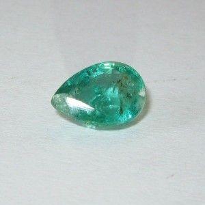 2.33 carat Pear Fine Natural Green Emerald