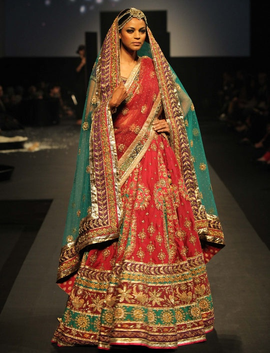 #Indian bridal #lehenga by #ritukumar