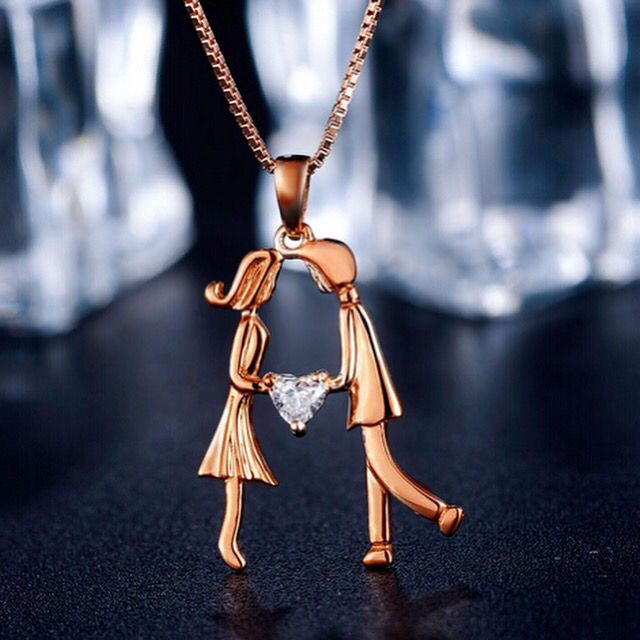 Lover pendant necklace #necklace