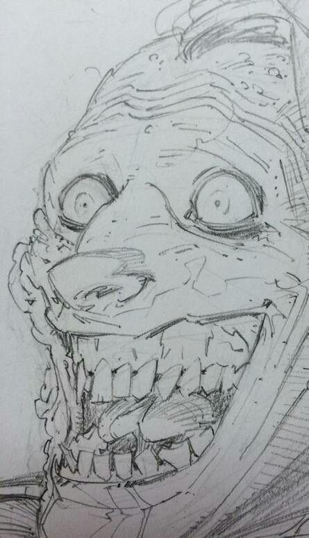 Greg capullo pencils joker