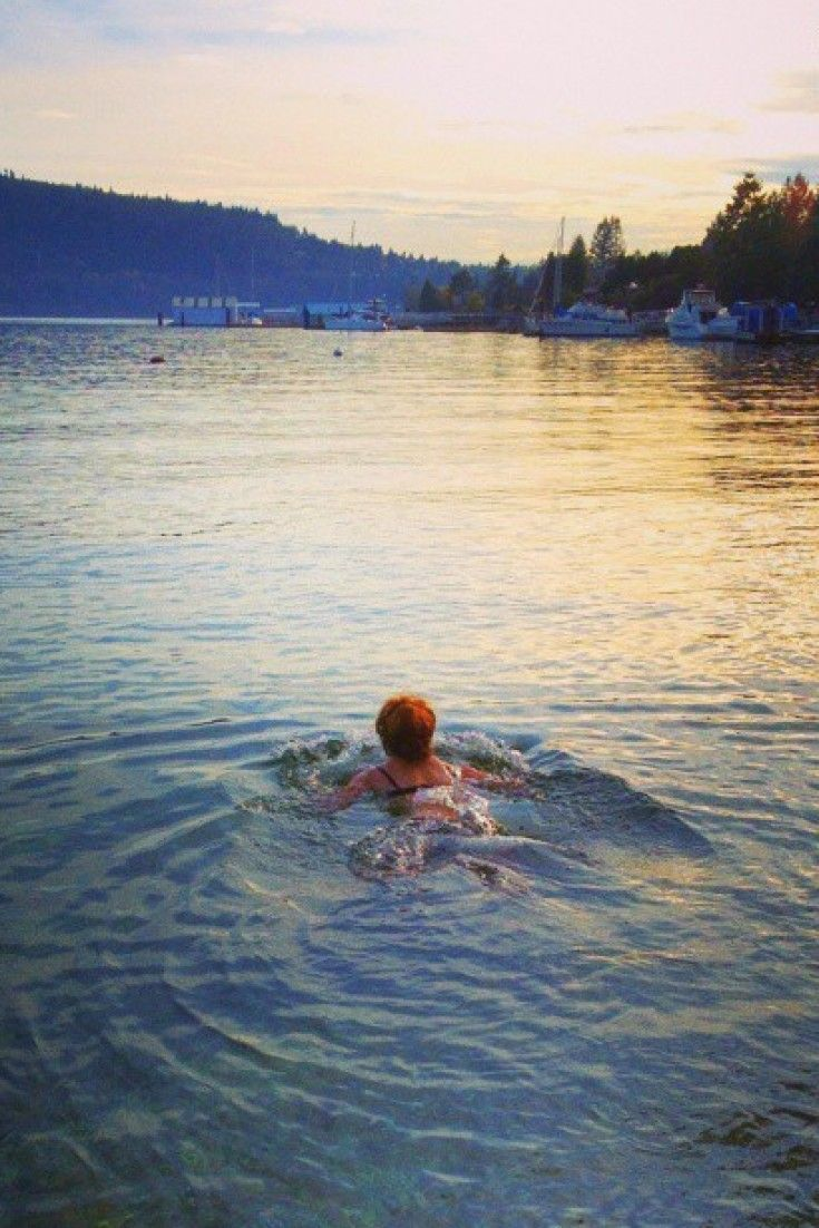 Winter Swimming Is Good For Body And Soul: B.C. Swimmer (PHOTOS)
