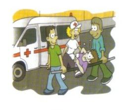 Colabore en el rescate y atención de los heridos