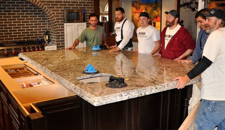 lennon granite Kitchen Traditional with cherry hill build-up