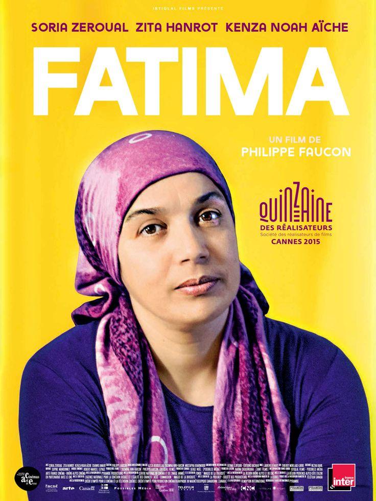 Fatima est un film de Philippe Faucon avec Soria Zeroual, Zita Hanrot, Kenza Noah Aïche. Synopsis : Fatima vit seule avec ses deux filles : Souad, 15 ans, adolescente en révolte, et Nesrine, 18 ans, qui commence des études de médecine. Toutes deux sont sa fierté, son moteur, son inquiétude aussi. Afin de leur offrir le meilleur avenir possible, Fatima travaille comme femme de ménage avec des horaires décalés... http://www.allocine.fr/film/fichefilm_gen_cfilm=227827.html