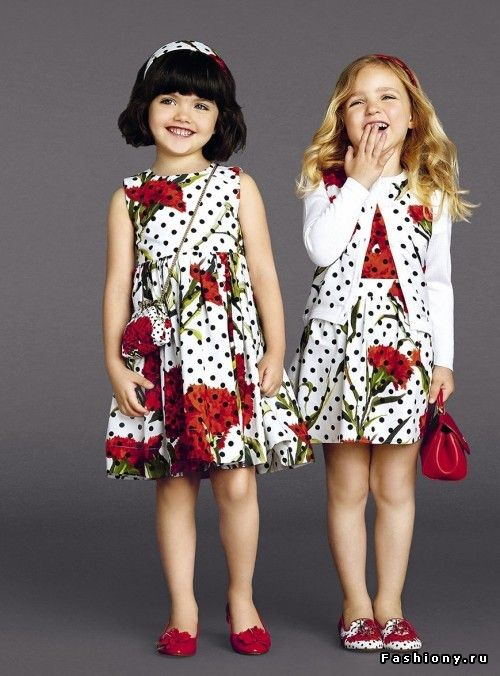 Fashion Kids Dolce & Gabbana Spring-summer 2015
